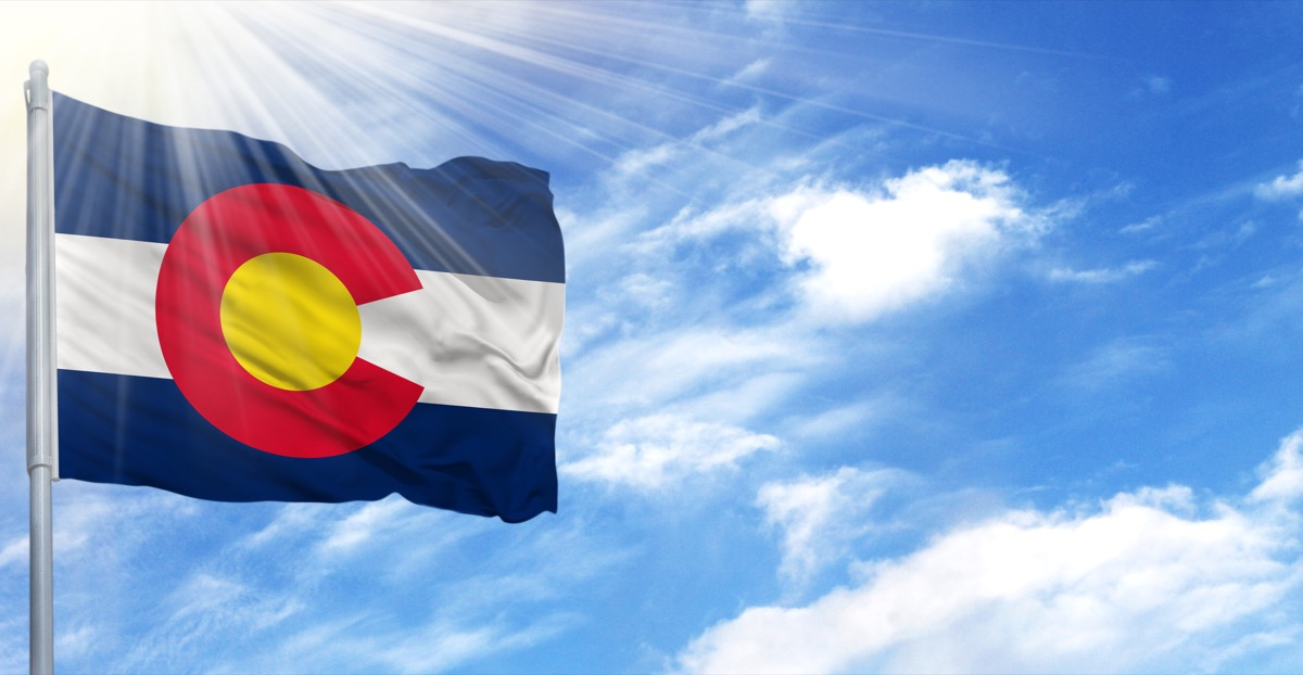 colorado state flag facts