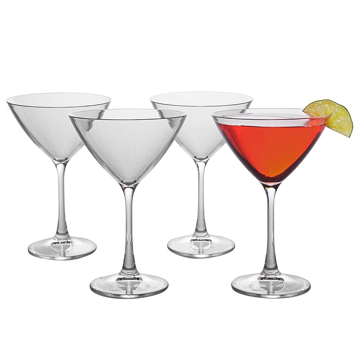 decco plastic martini glass