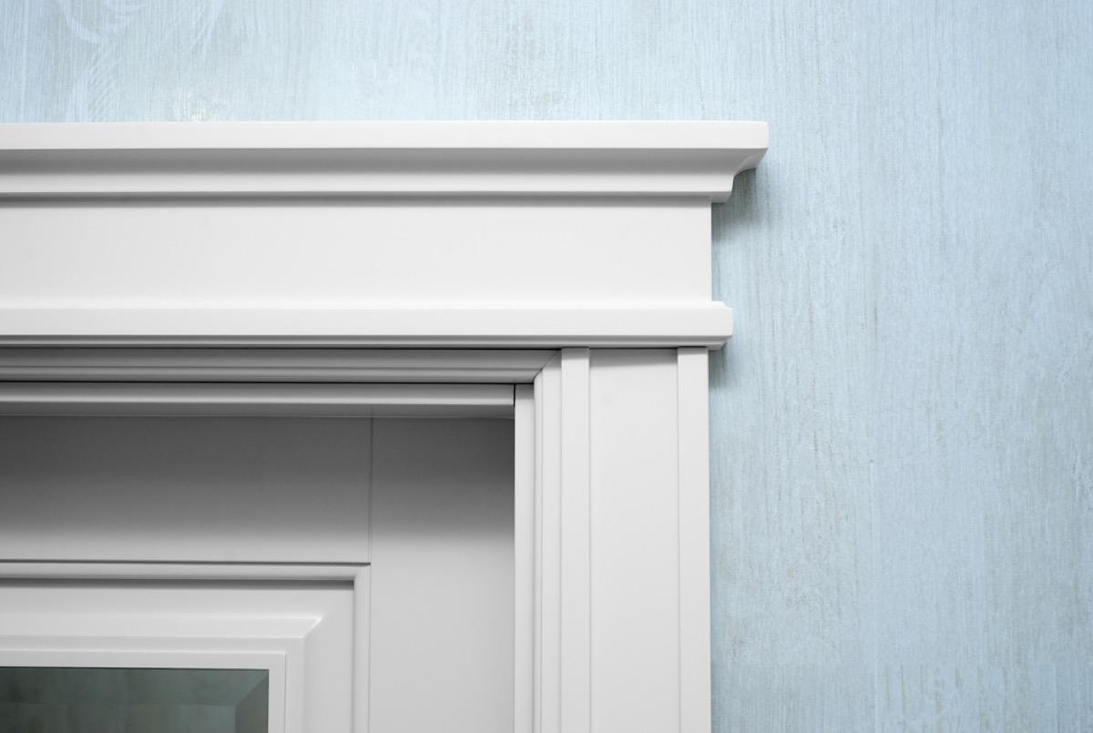 doorway molding, easy home tips