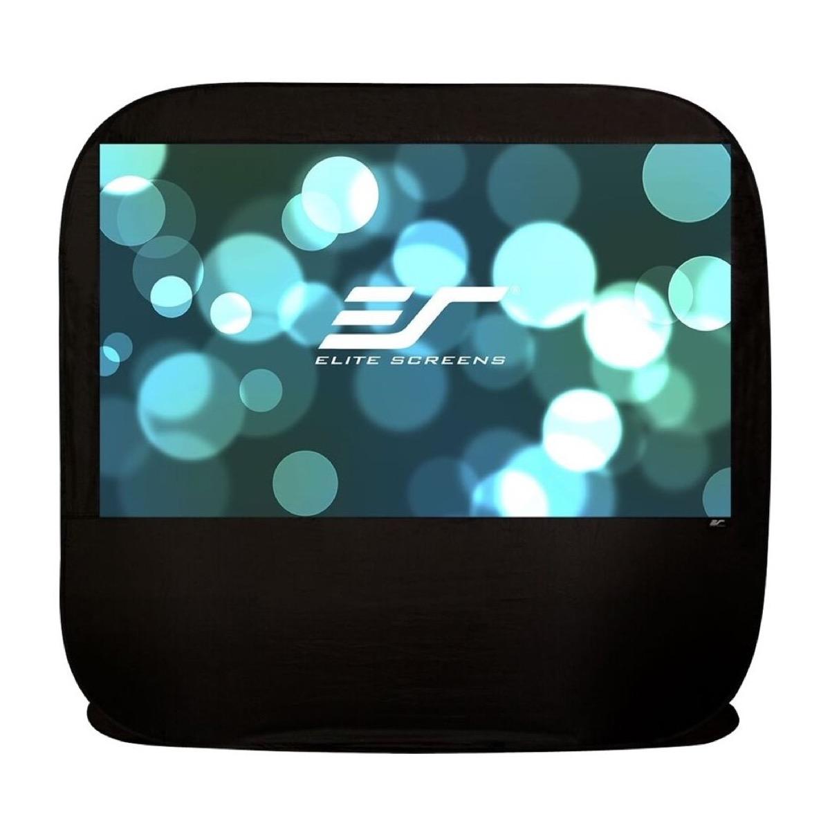 elite screens outdoor projector
