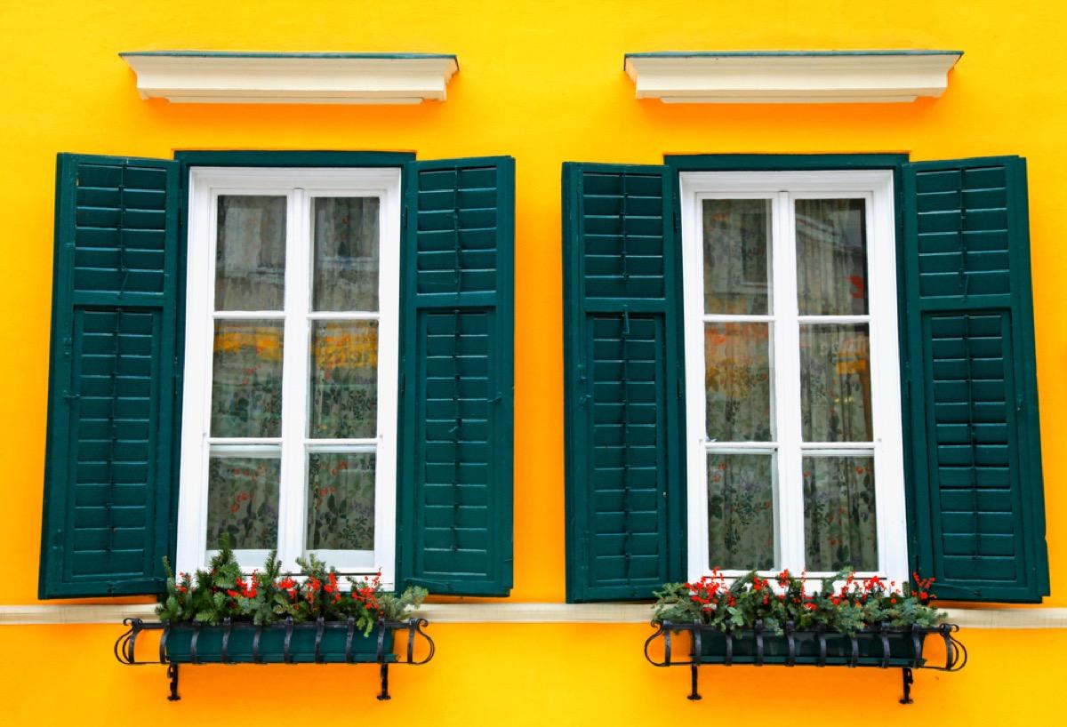 home shutters, vintage home upgrades