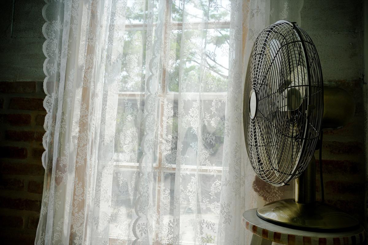 fan by window ways to bring down a/c bill