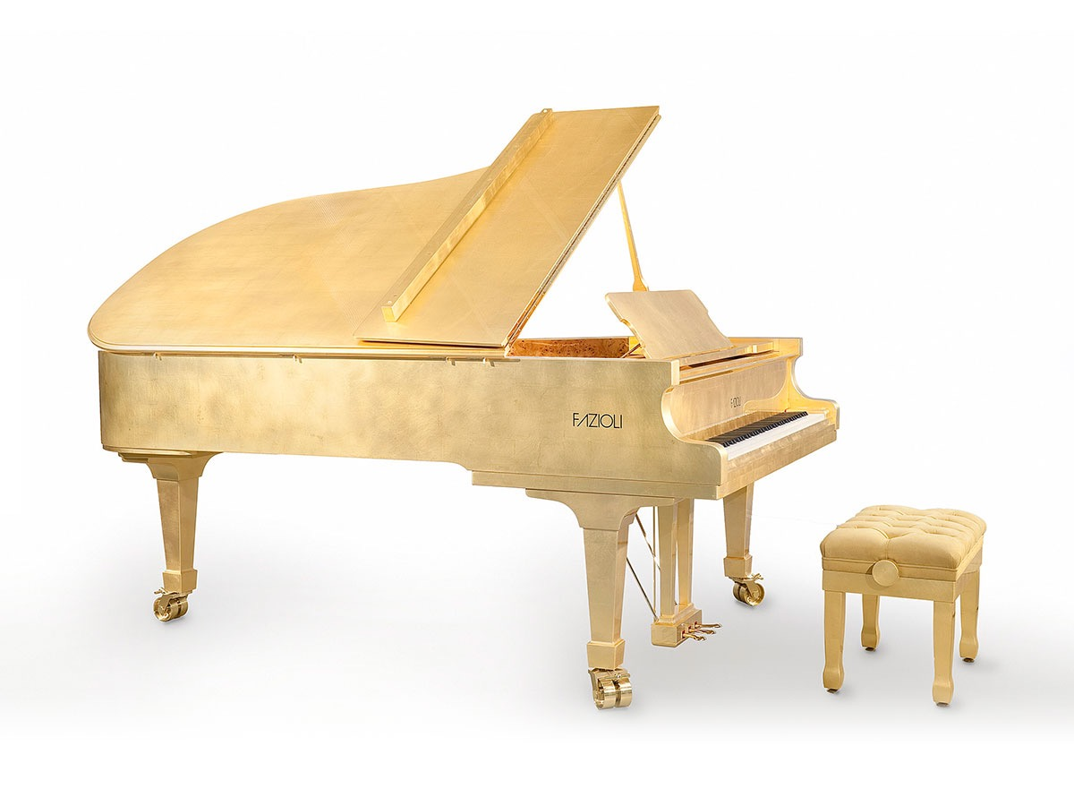 Fazioli 24K Piano Most Expensive Things on the Planet
