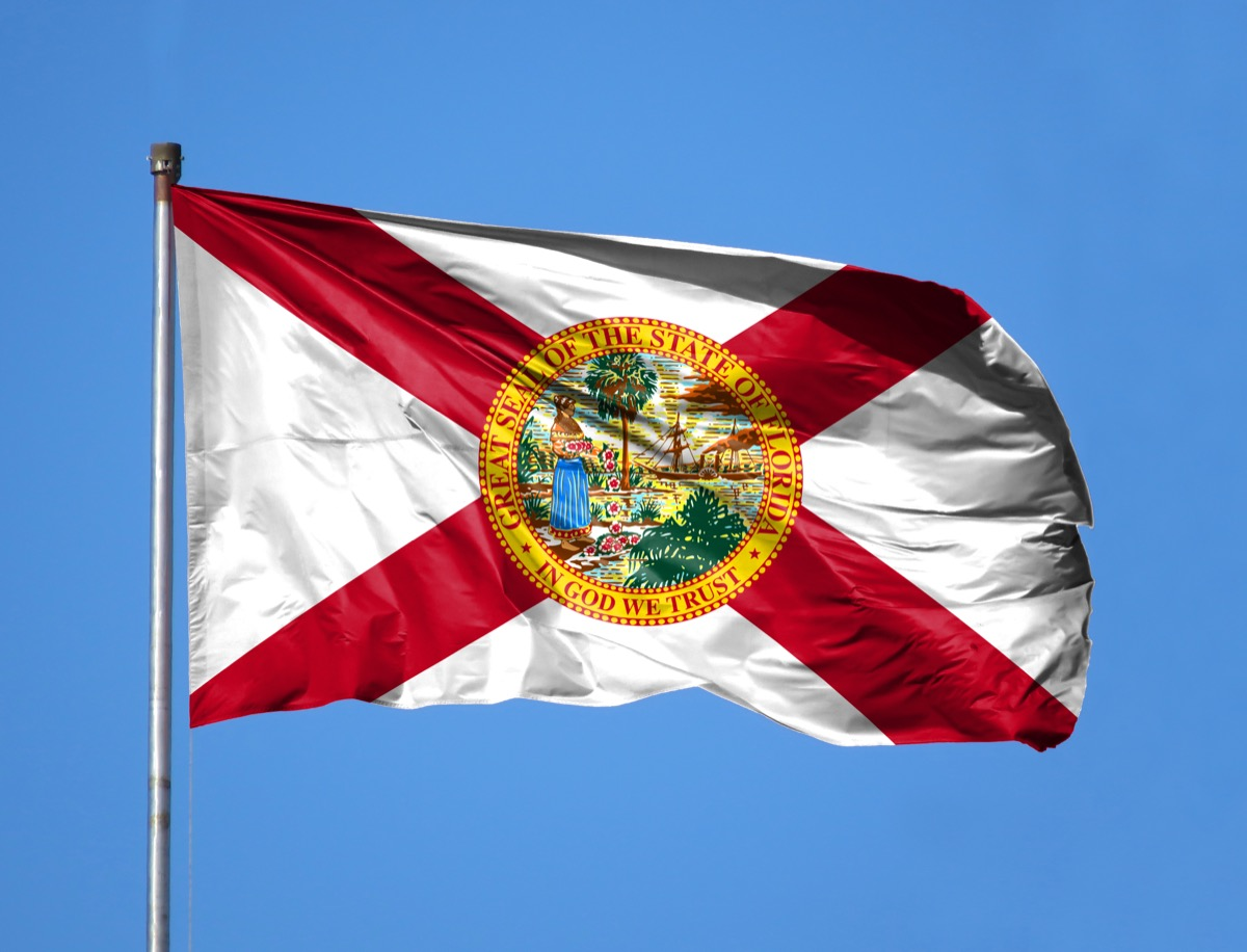 florida state flag facts