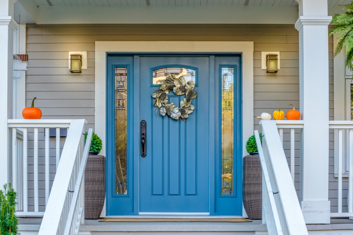 grand front entry door, home upgrades