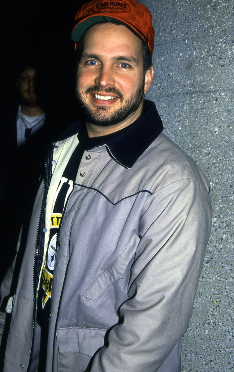 garth brooks circa 1990, old photos celebrity stars