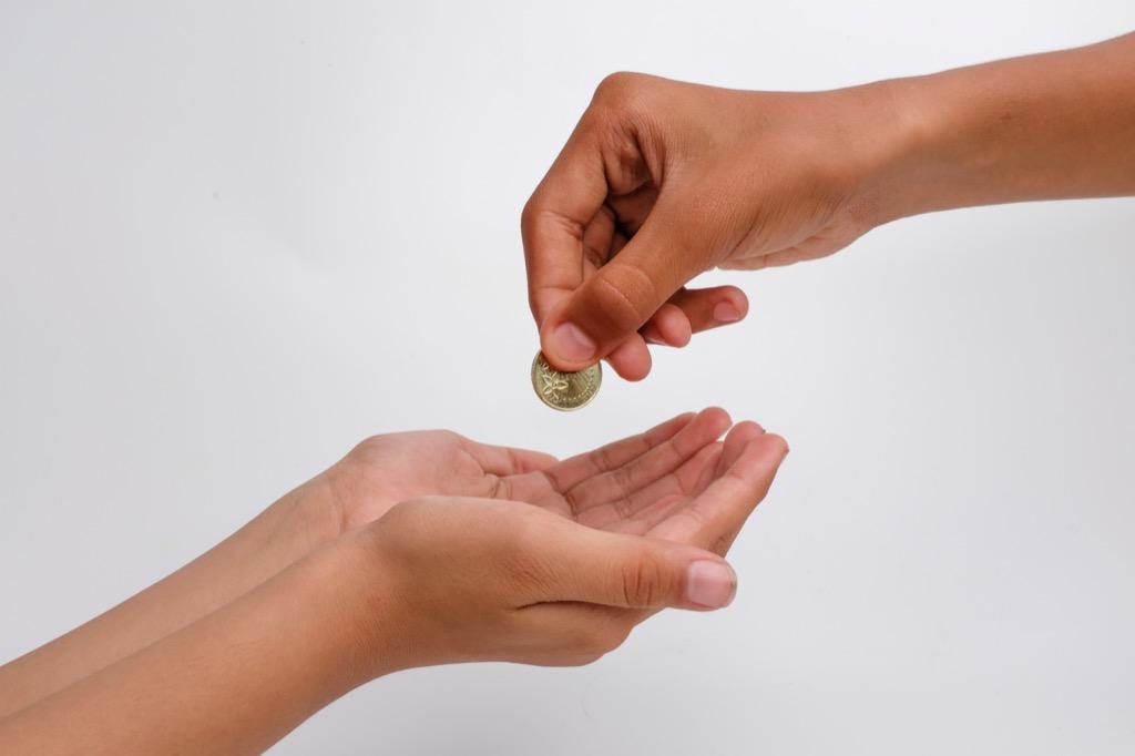 Giving Money to Charity Ways Ramadan is Celebrated