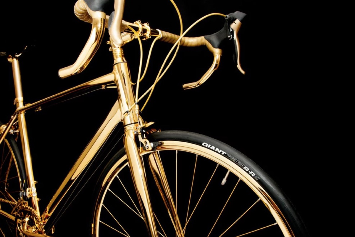 Goldgenie Gold Bike Most Expensive Things on the Planet