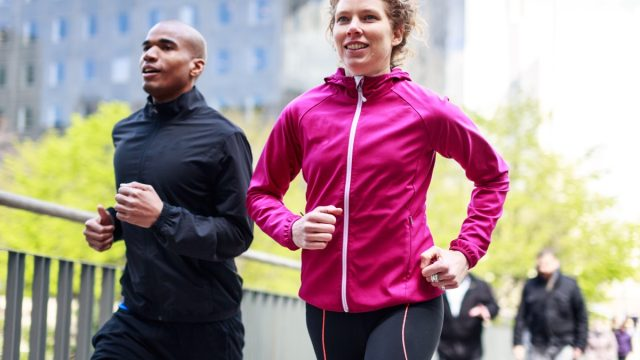 Healthy Couple Running Outside smart person habits