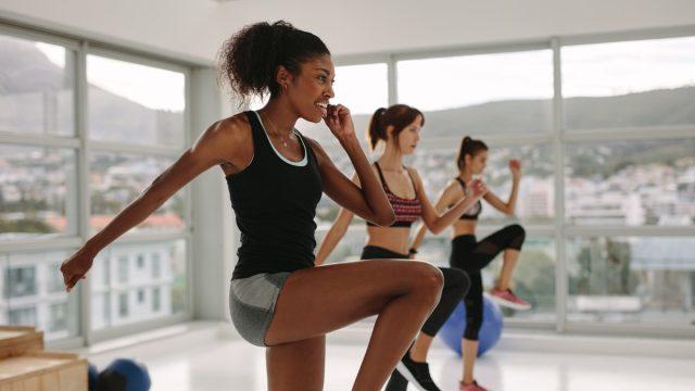 High Intensity Workout Class
