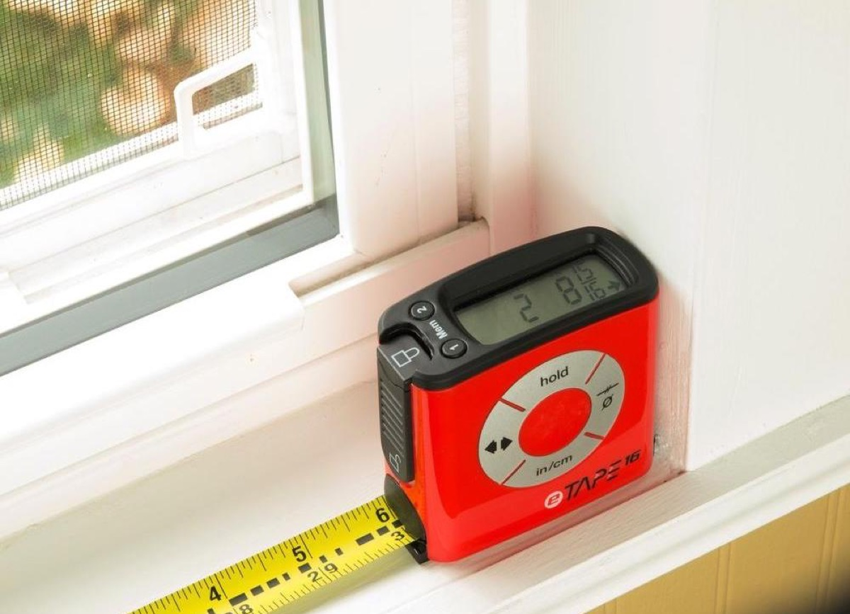 home depot electronic tape measure