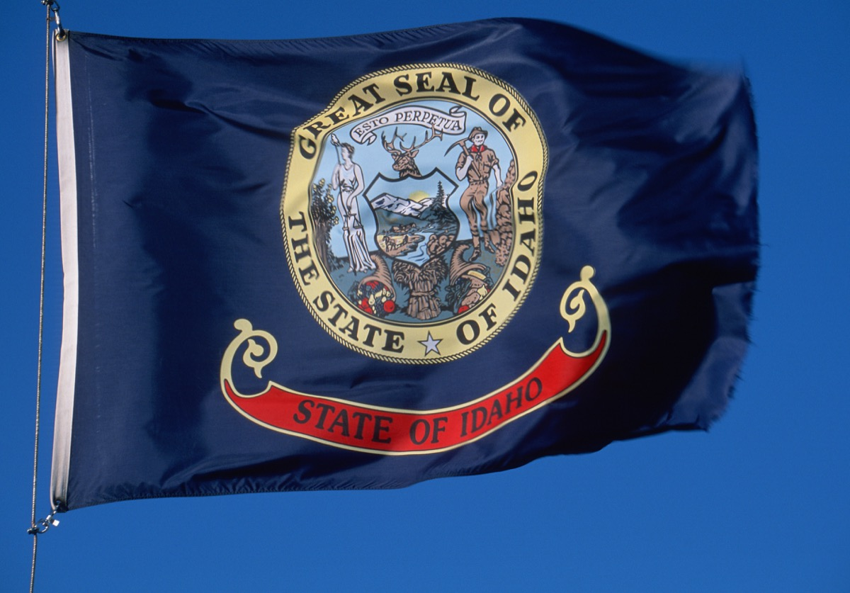 idaho state flag facts