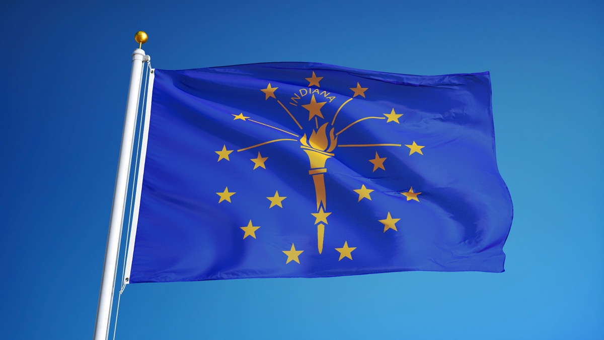 indiana state flag facts