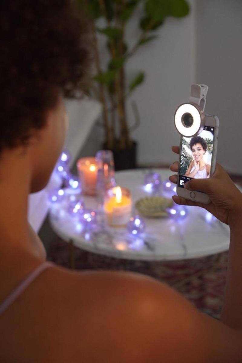 selfie ring light, amazing summer buys
