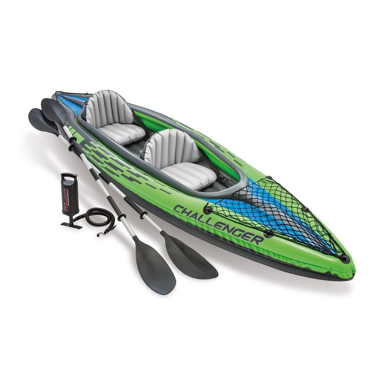 challenger k2 inflatable kayak by intex