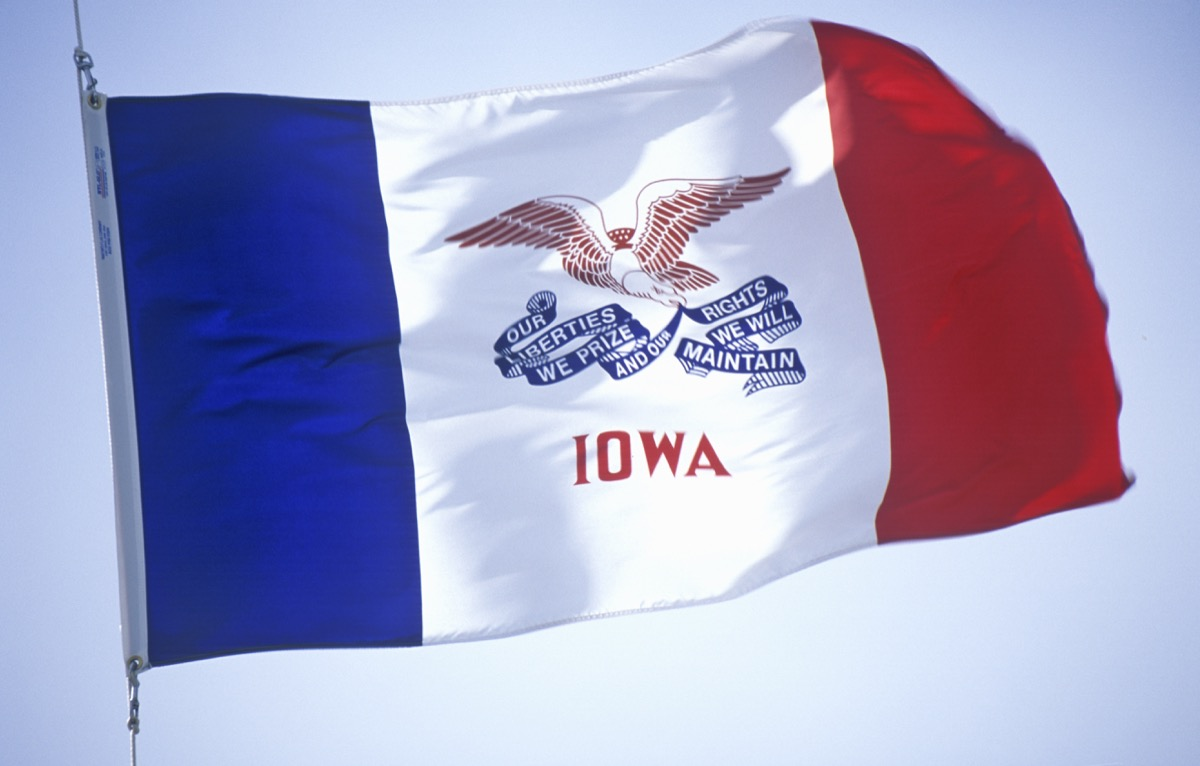 iowa state flag facts
