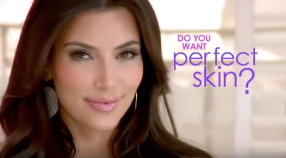 kim kardashian perfect skin infomercial, celebrity infomercial