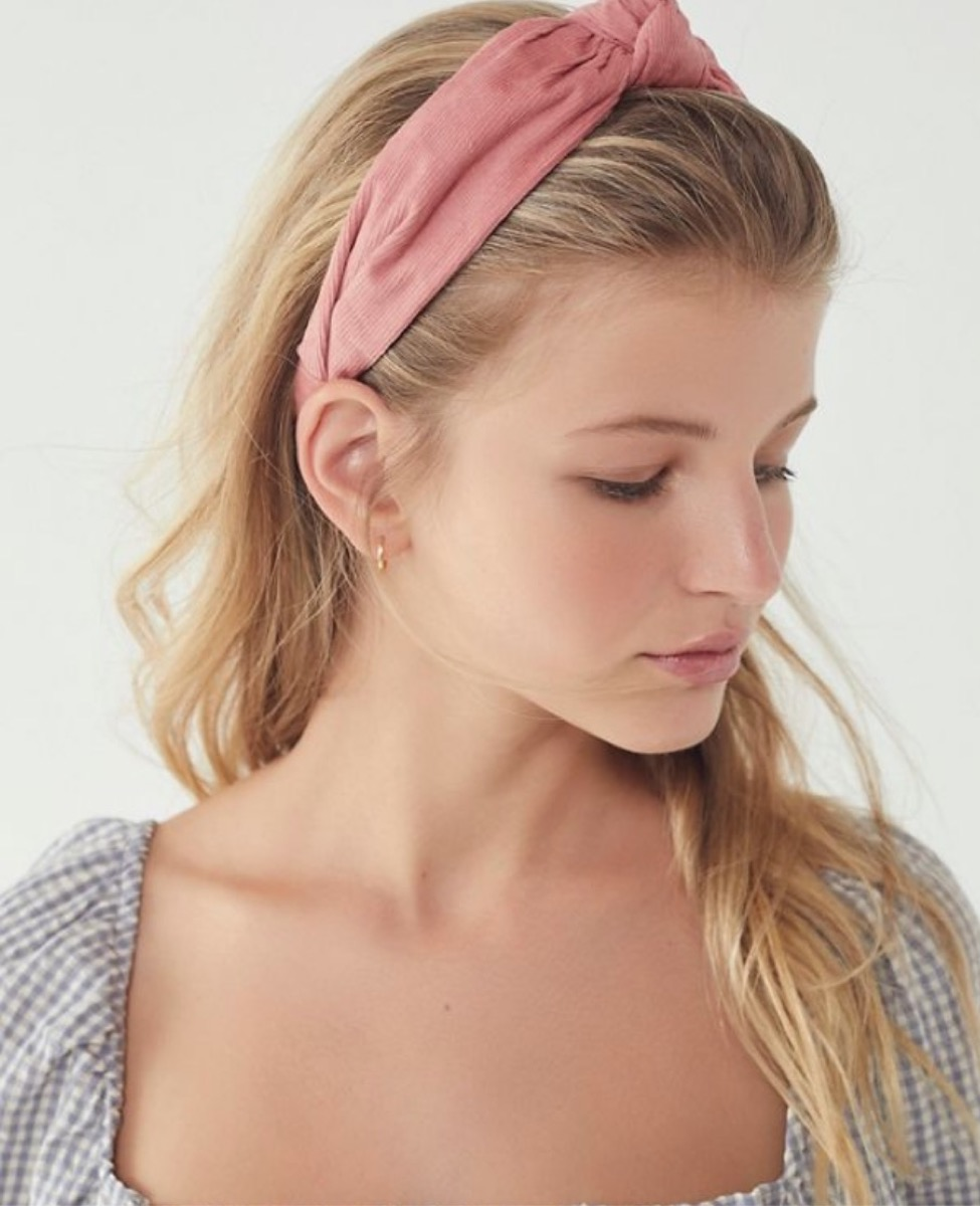 pink knotted headband, summer buys under $100