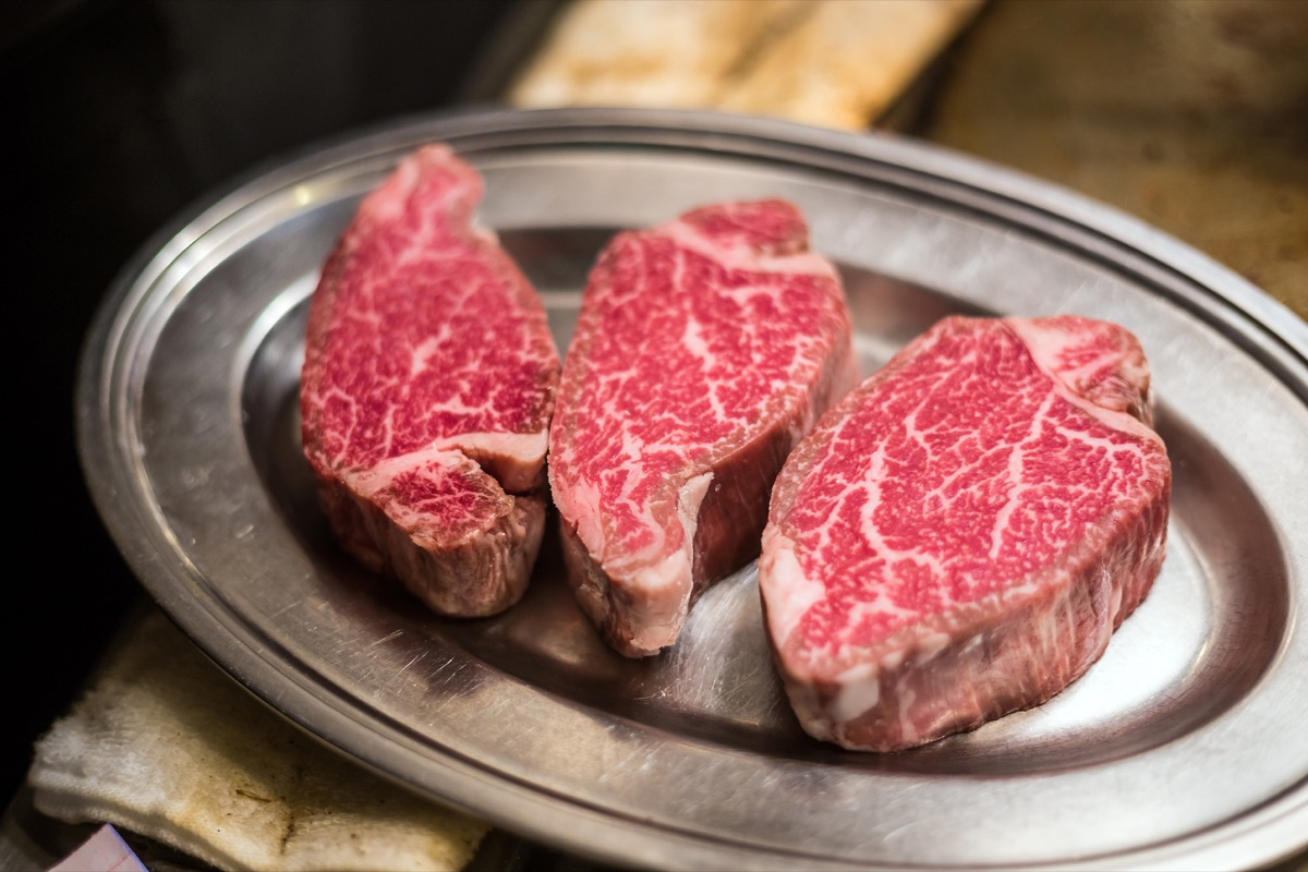 Kobe Beef Steak Most Expensive Things on the Planet