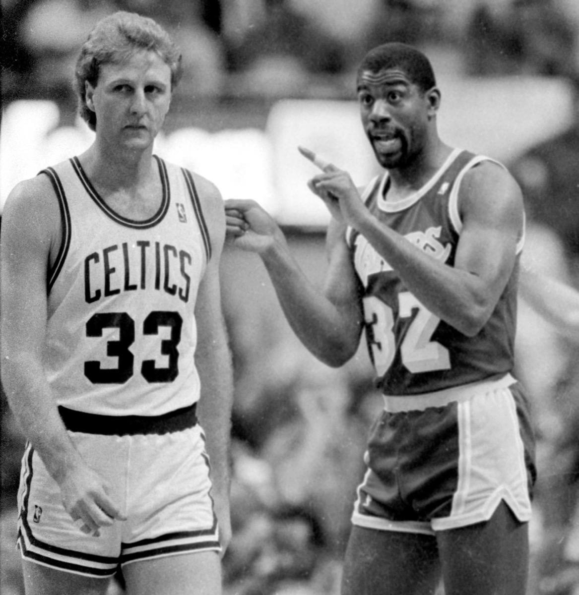 larry bird and michael johnson feud, 1980s nostalgia