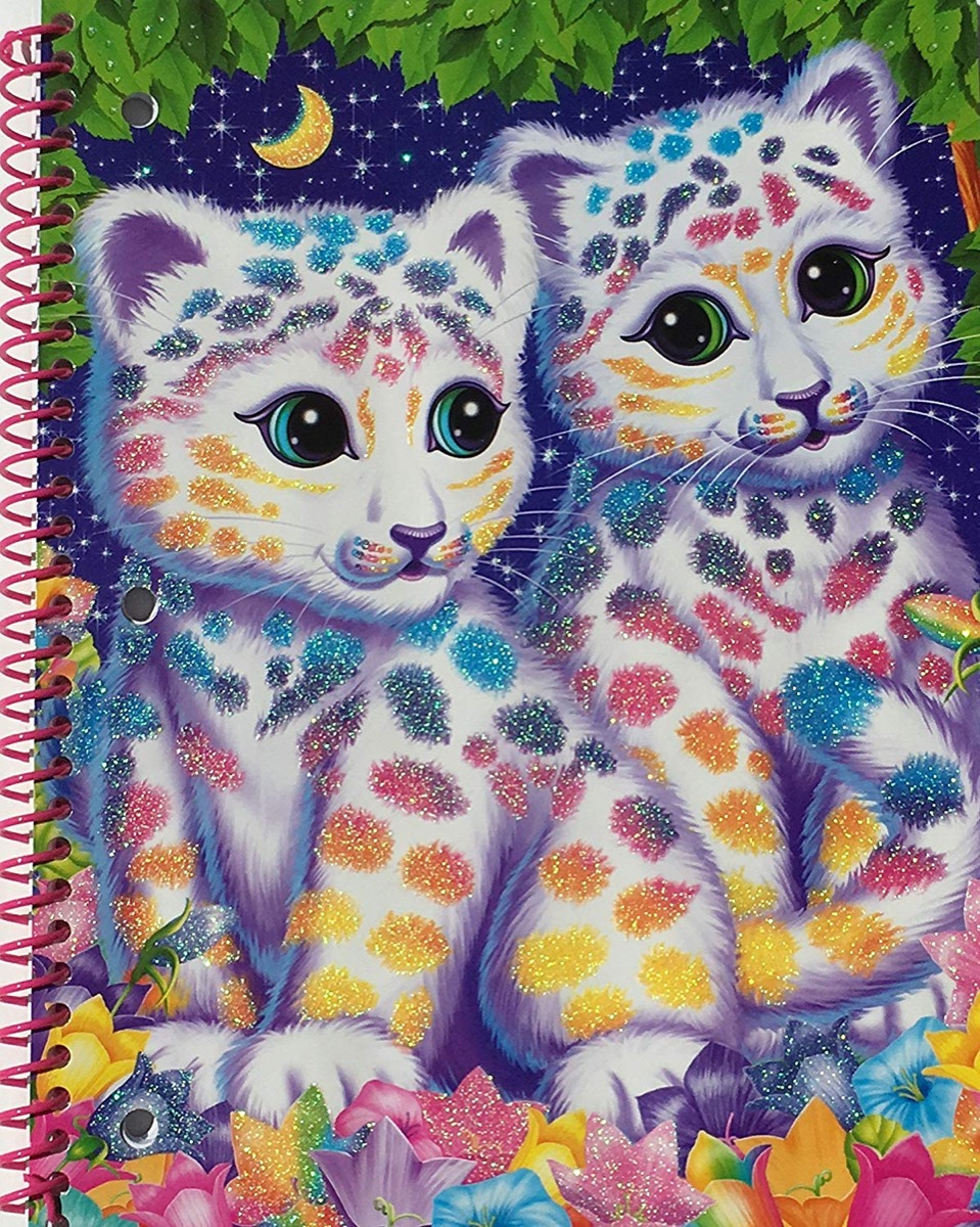 lisa frank notebook, things only 90s kids remember