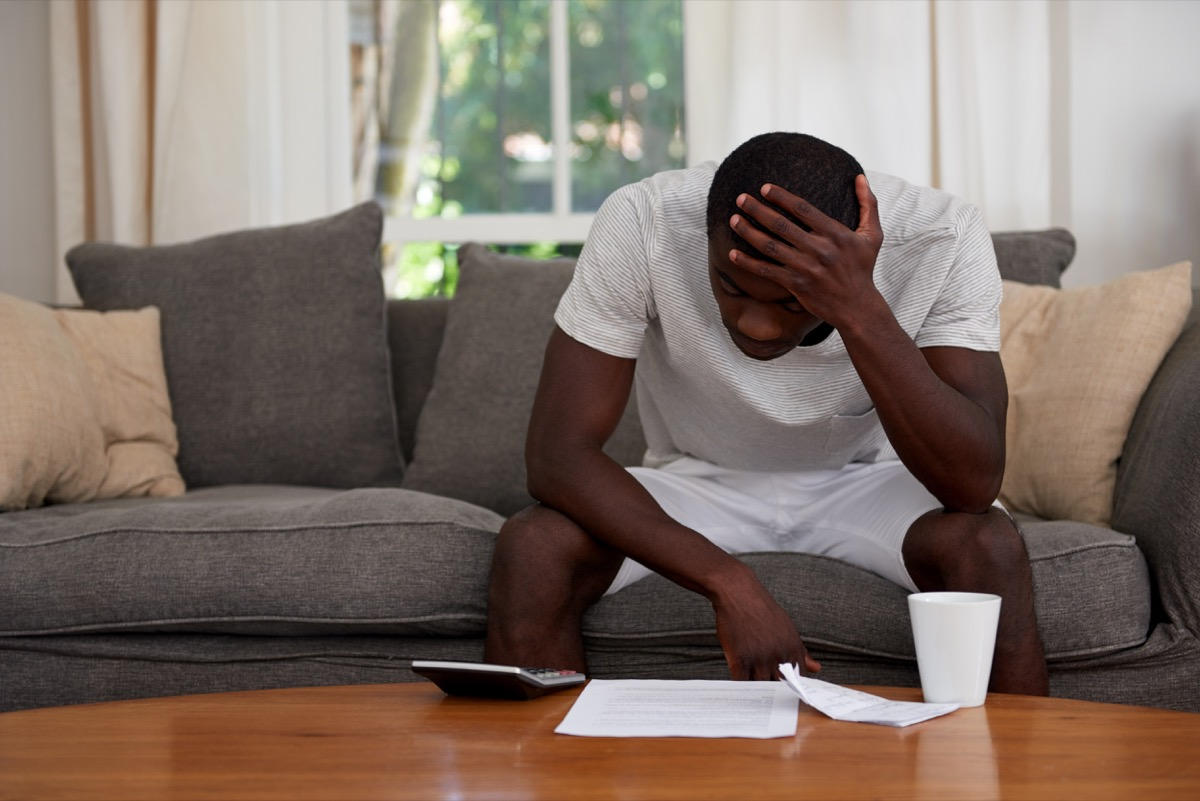 Black Man Doing His Taxes and Struggling I Can't Even Slang Terms