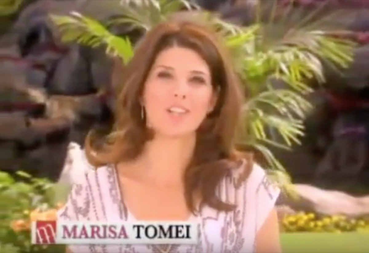 marisa tomei commercial, celebrity infomercial
