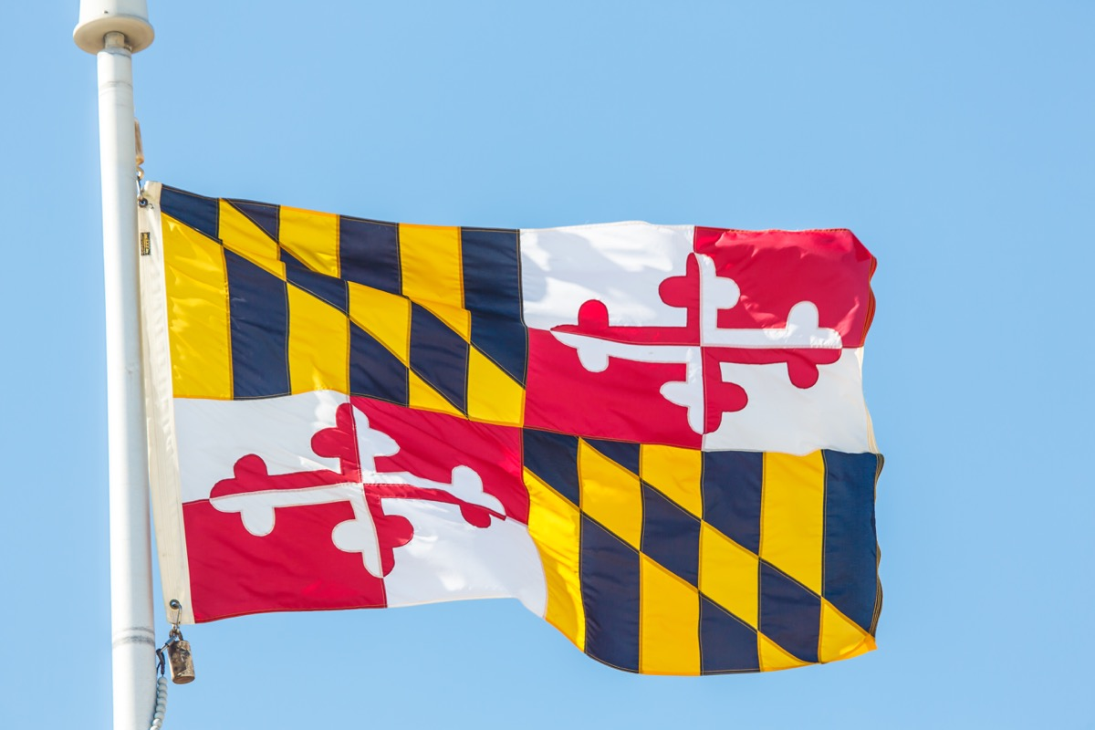 maryland state flag facts