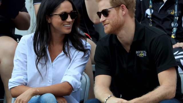 KAATFR Prince Harry and Meghan Markle at the 2017 Invictus Games in Toronto, Canada.