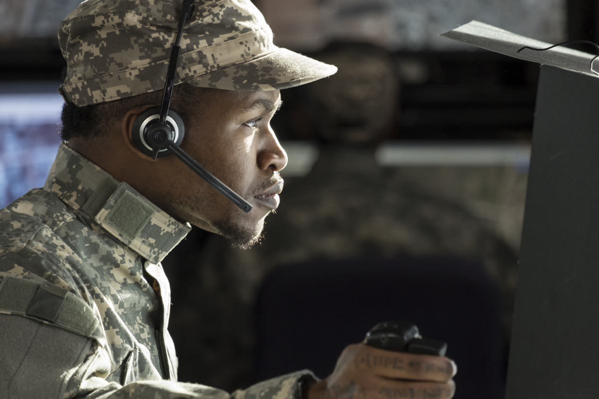 Military Officer on Duty Veteran Slang