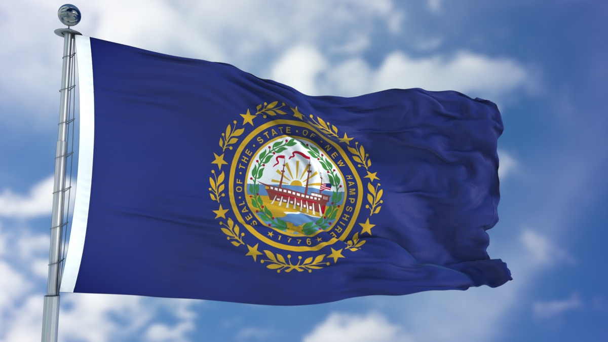 new hampshire state flag facts