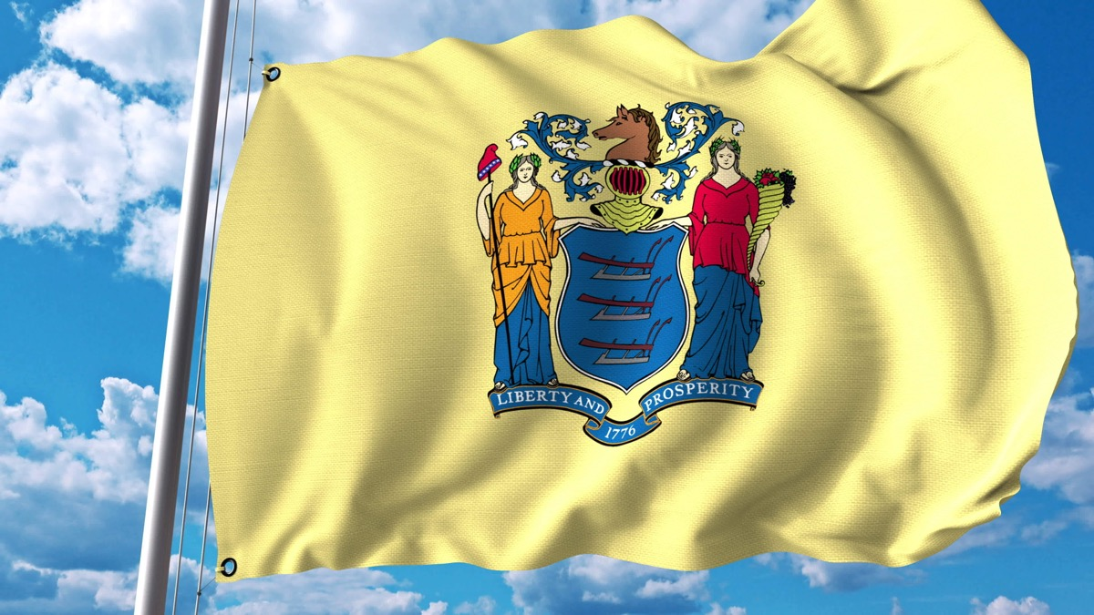 new jersey state flag facts