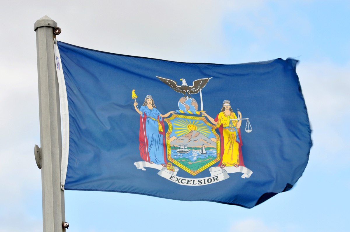 new york state flag facts