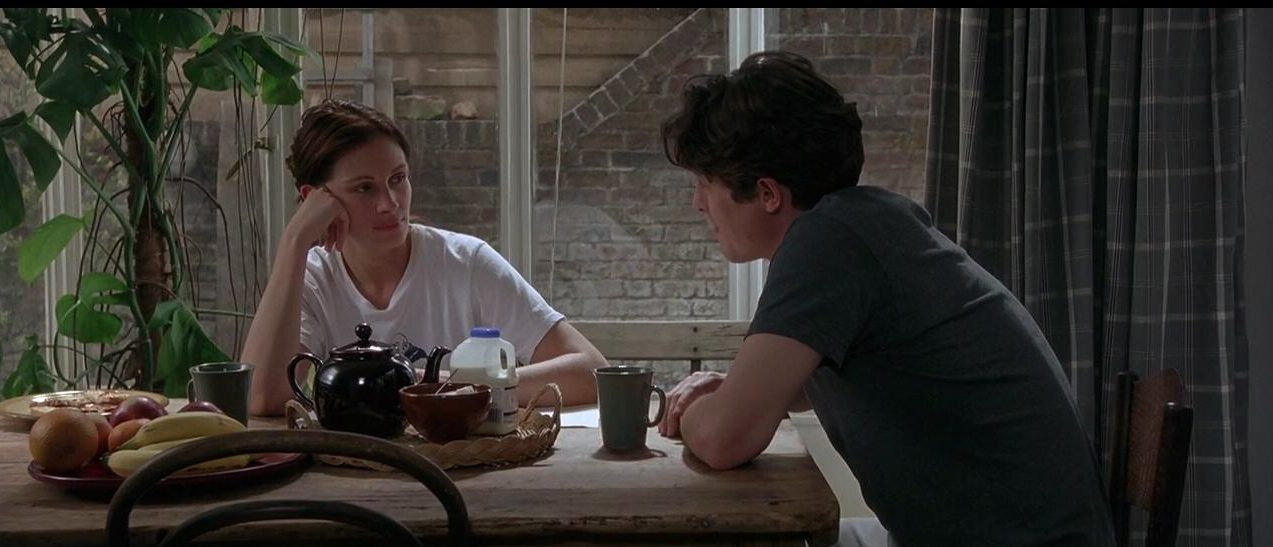 movie scene from notting hill, memorial day movies
