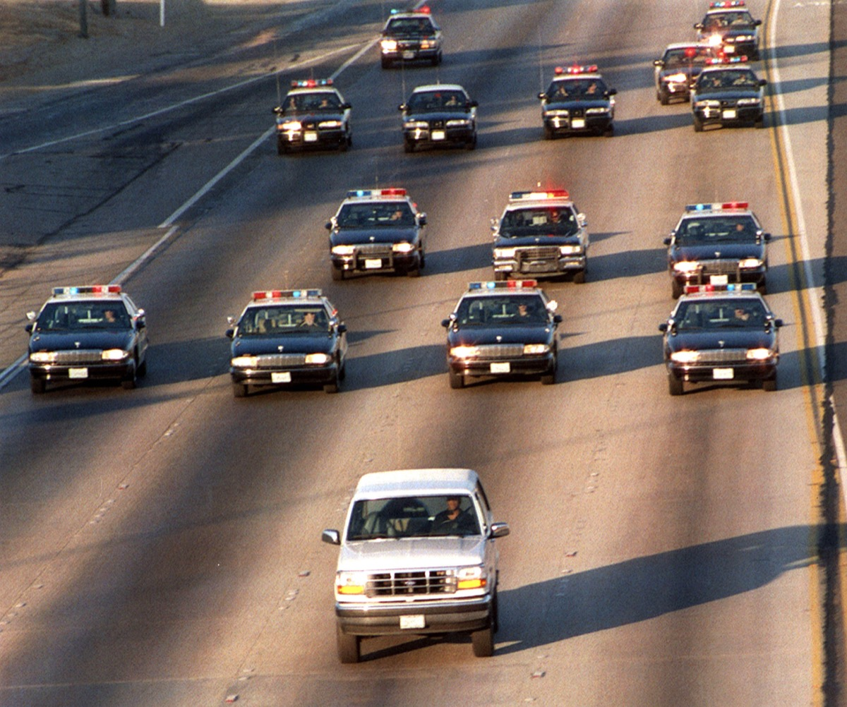 oj simpson ford bronco, things only 90s kids remember