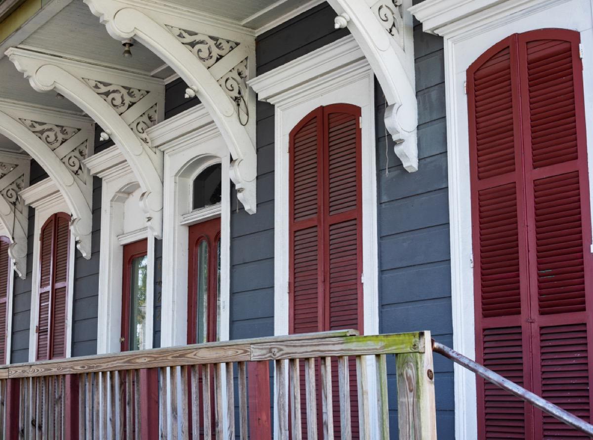 older home porch fascia, vintage home upgrades