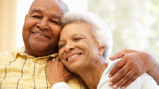 older black couple hugging, things husband should notice