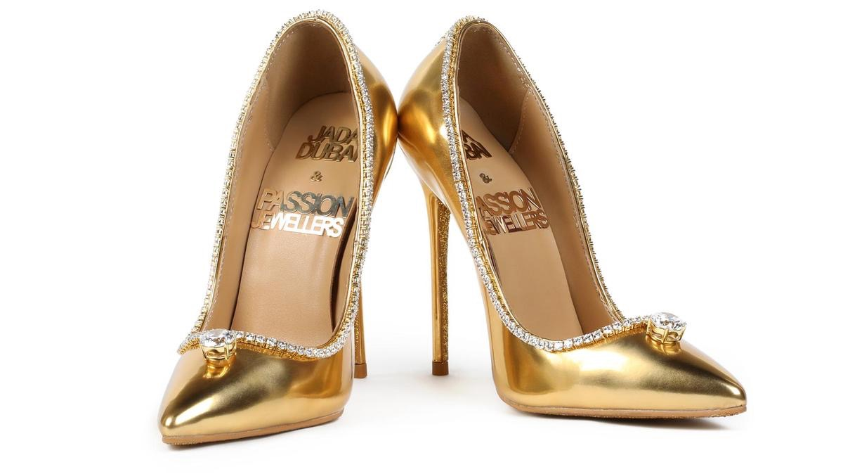 Passion Diamond Shoes Most Expensive Things on the Planet