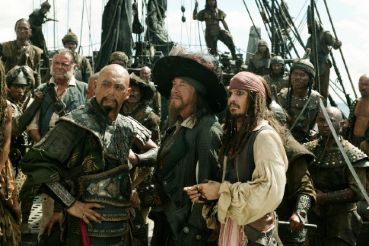 pirates of the caribbean at worlds end, memorial day movies