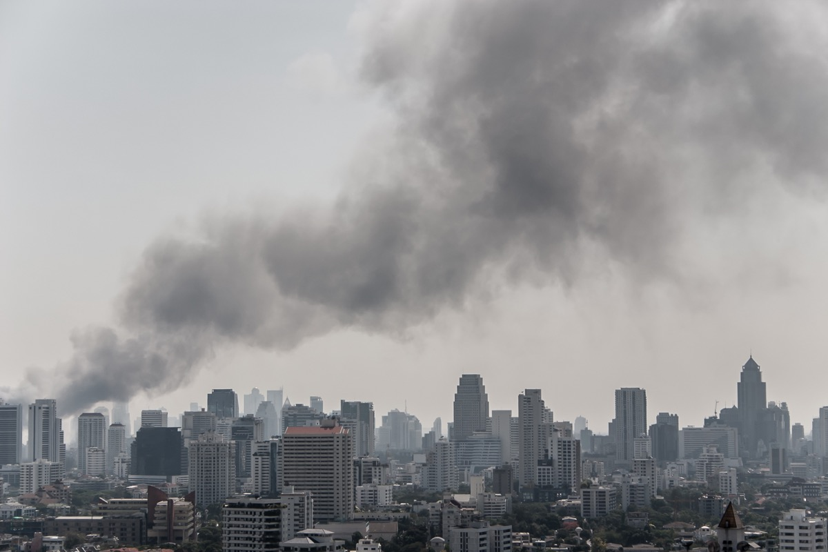Pollution in the Skies in Thailand Childhood Habits that Affect Health