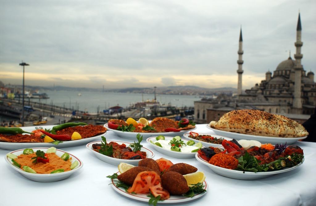 A Food Spread in Turkey For Ramadan Ways Ramadan is Celebrated