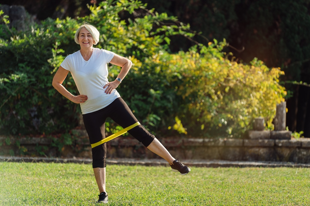 resistance training, over 50 fitness