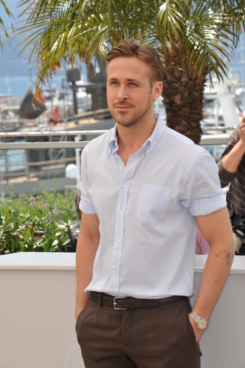 ryan gosling on the red carpet for cannes, most stylish dads