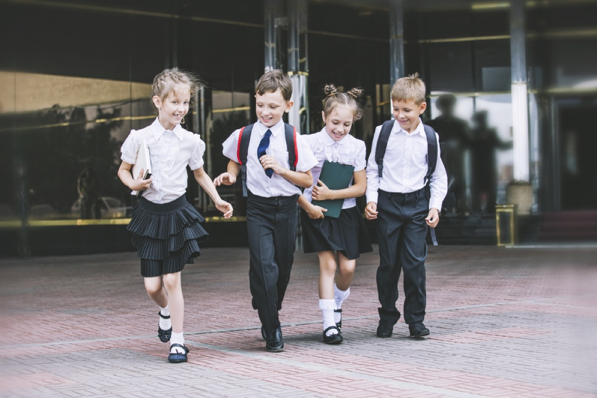 private school students, ways parenting has changed