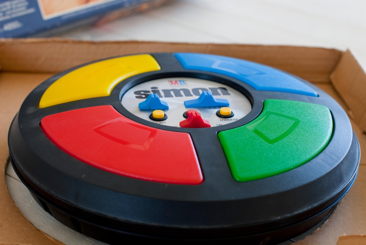 vintage simon game, 1970s nostalgia