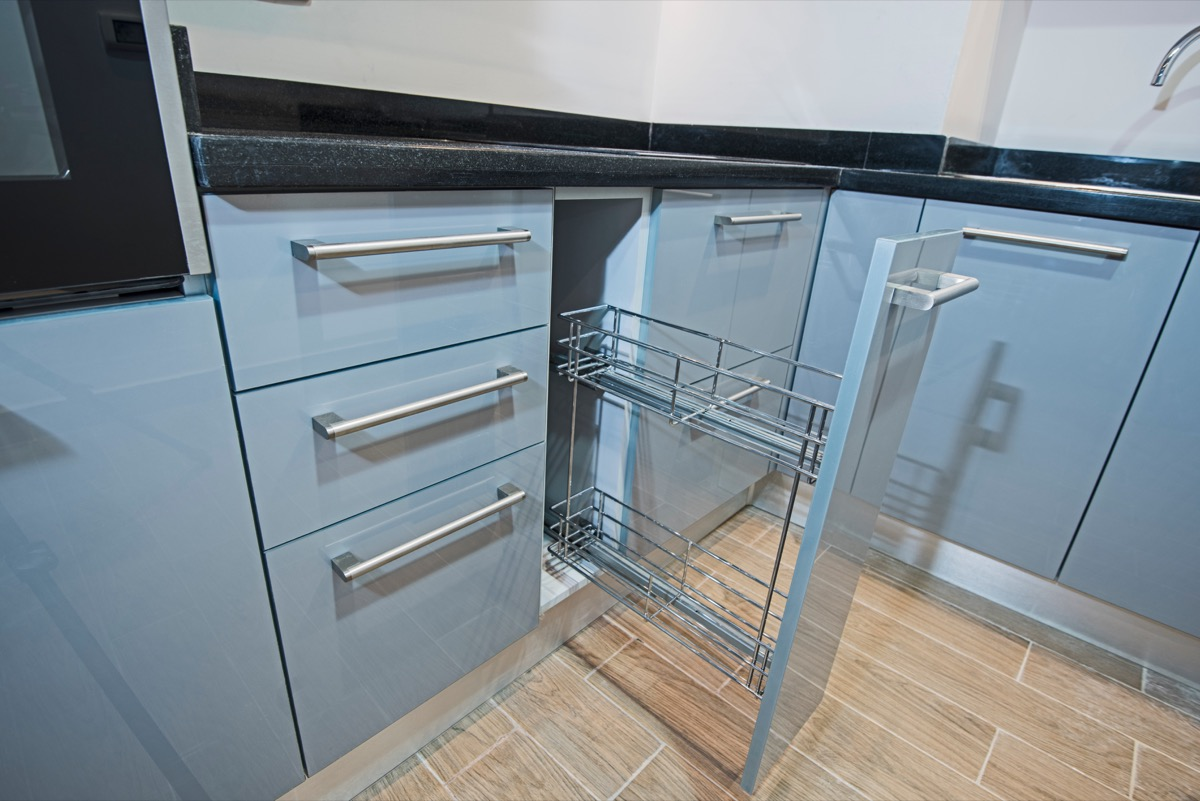 Small Kitchen Rack for Smaller Space Transform Small Kitchen