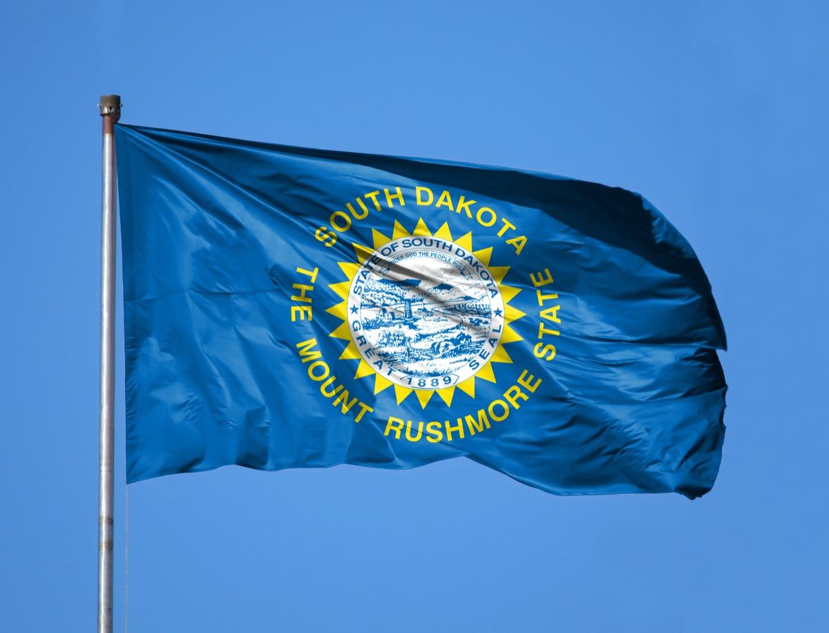 south dakota state flag facts