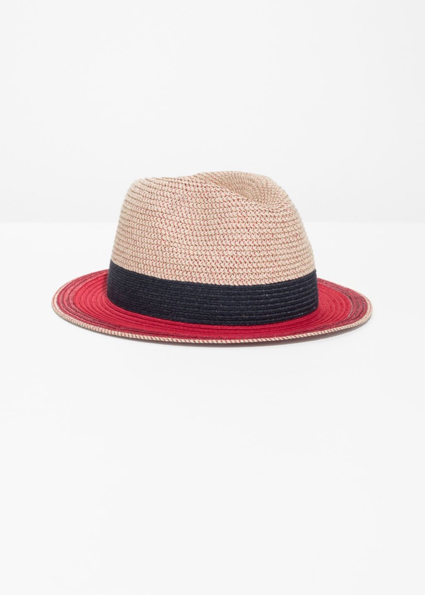 And Other Stories Straw Fedora Hat Fourth of July Accessories