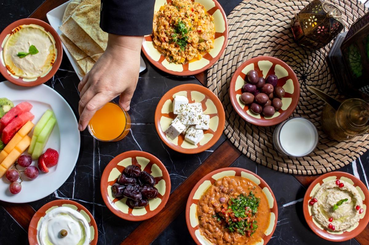 A Suhoor Meal for Ramadan