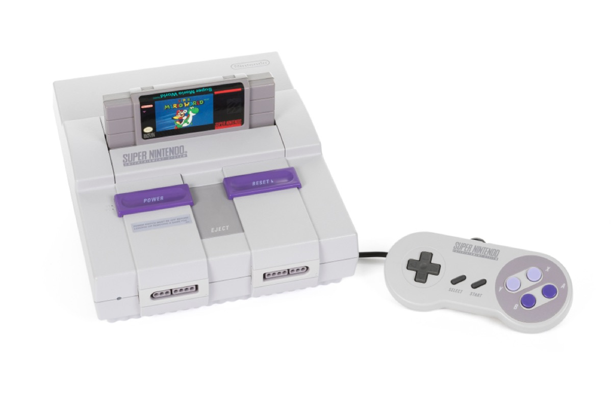 super nintendo system, things only 90s kids remember